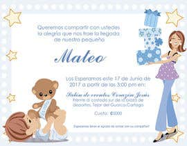 #12 for Desing a babyshower invitation by JulioEdi