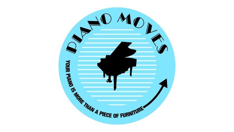 Συμμετοχή Διαγωνισμού #171 για Logo Design for Piano Moves