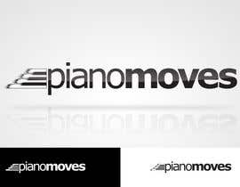 #192 για Logo Design for Piano Moves από MladenDjukic