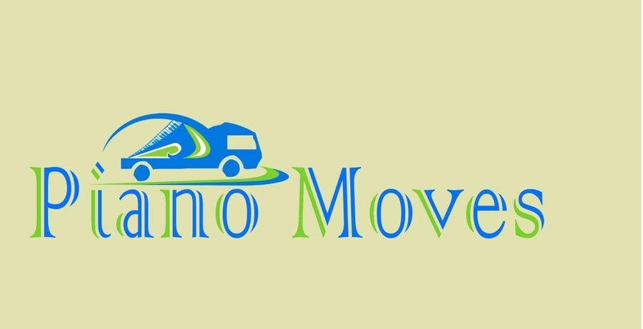 Participación en el concurso Nro.                                        64                                      para                                         Logo Design for Piano Moves