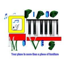 #195 για Logo Design for Piano Moves από samra1234