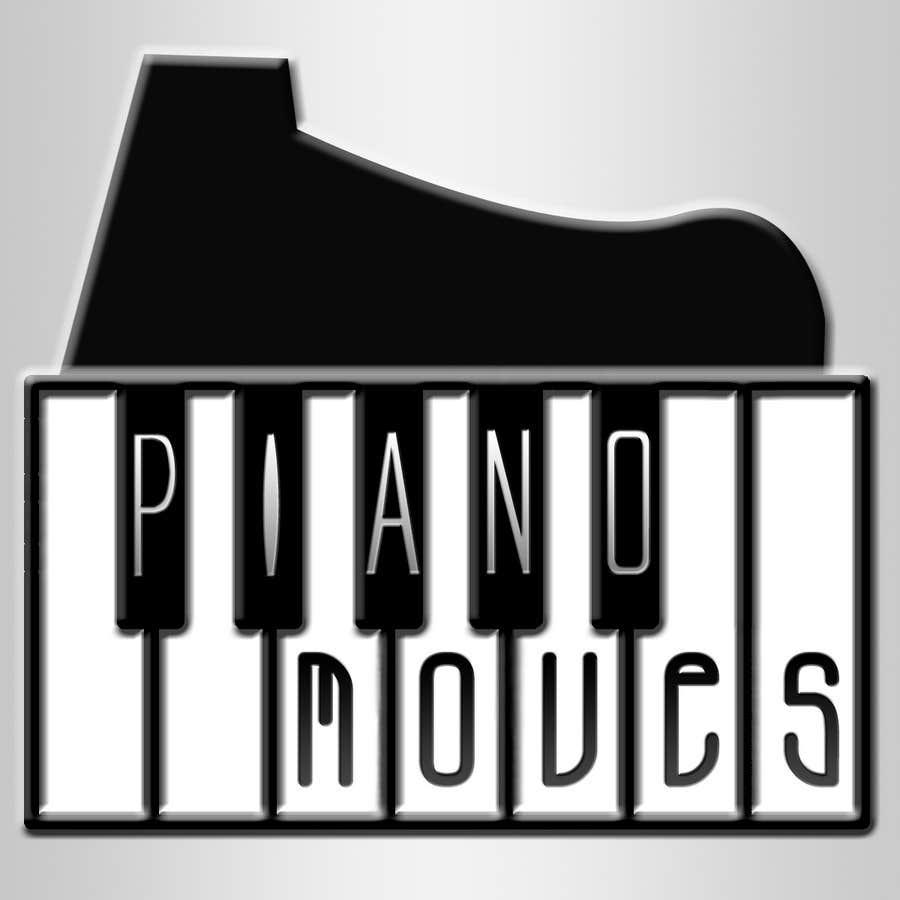 Συμμετοχή Διαγωνισμού #202 για Logo Design for Piano Moves