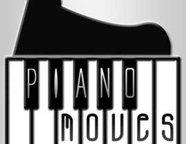 #202 para Logo Design for Piano Moves de keemlai