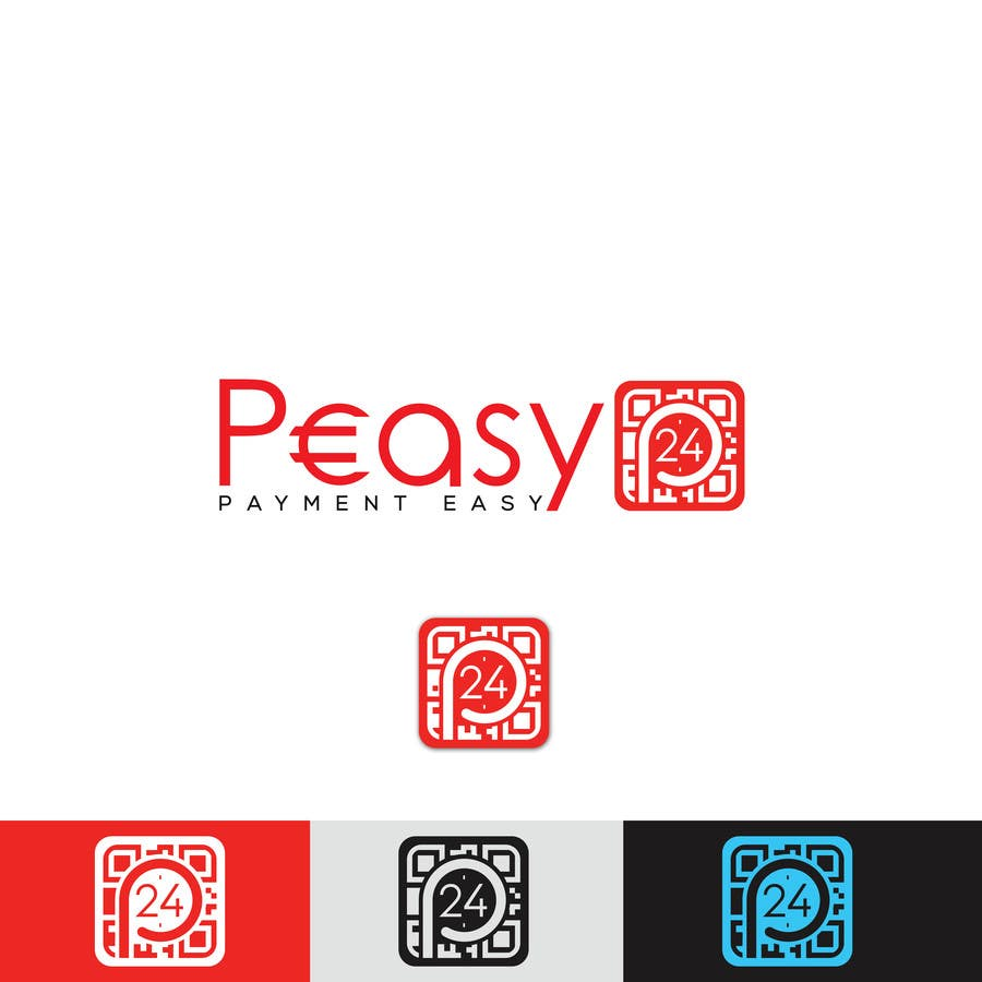 Contest Entry #275 for Peasy24 Logo