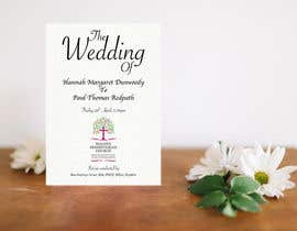 #19 for Order of Service - Wedding Design by dilipprasad406