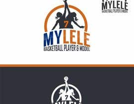 #20 for Logo design for youth girl basketball/ modeling (MYLELE) by paijoesuper
