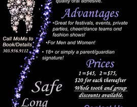 #13 for Design a Snazzy Dazzly Flyer for ToothGems By MoMo!! :)~ by del21751491