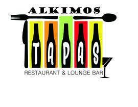 #71 pentru tapas restaurant logo design de către upasnanidhi