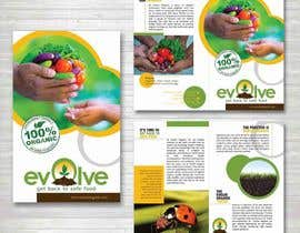 ferisusanty님에 의한 brochure design for organic vegetables and fruits을(를) 위한 #11