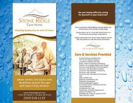 #39 pentru Design a Flyer for Stone Ridge Care Home de către RAADHI