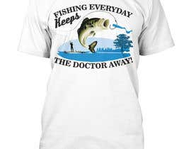 #26 for Fishing Shirt Design by syeda9000
