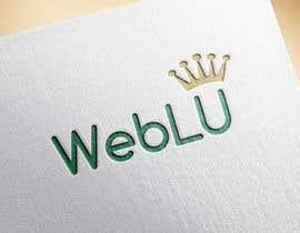 nº 7 pour WebLU Logo par ankurrpipaliya