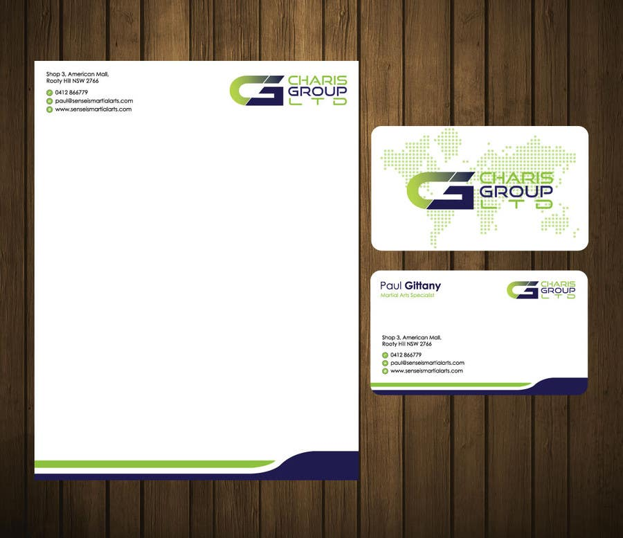 Entry #59 by petersamajay for Design Business Cards & letterhead ...