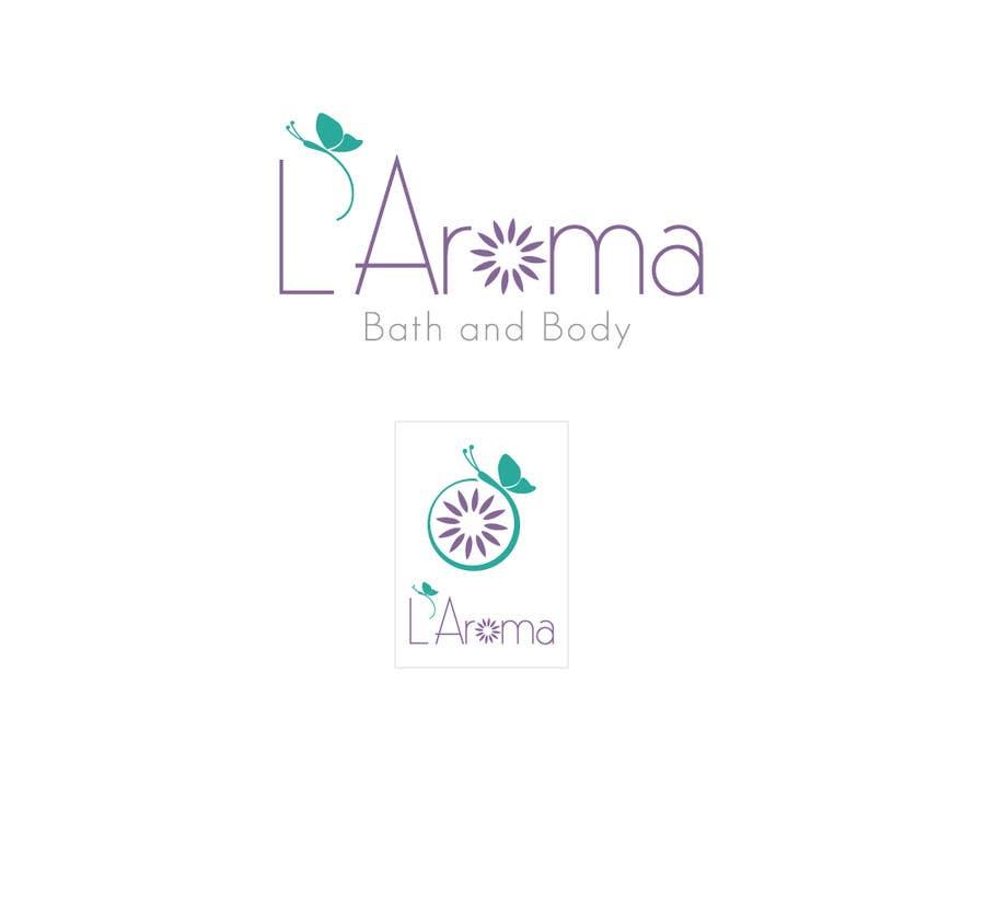 Inscrição nº                                         260                                      do Concurso para                                         Logo Design for L'Aroma Bath and Body
