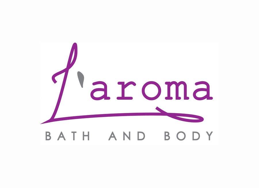Inscrição nº                                         8                                      do Concurso para                                         Logo Design for L'Aroma Bath and Body