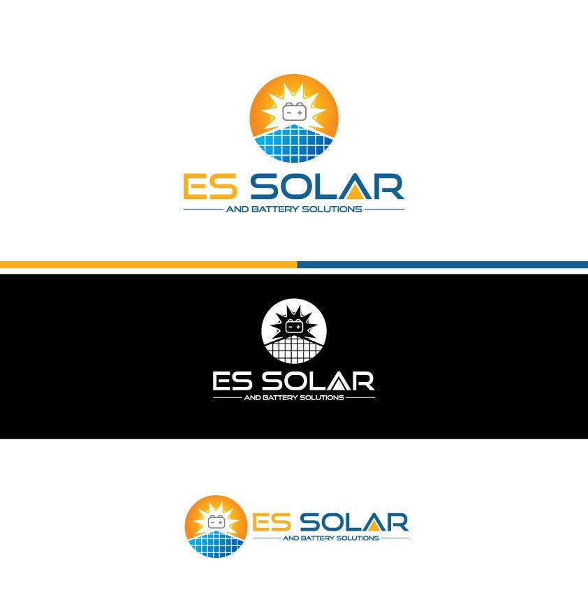 Contest Entry #245 for Logo for business - ES Solar and Battery Solutions