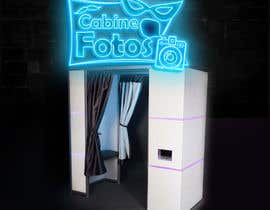 #39 for Illustrate my photobooth led sign by DEZIGNWAY