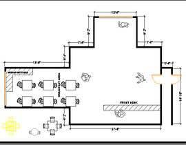 nº 7 pour Create a Motel Hallway in AutoCad par Boukheit25210