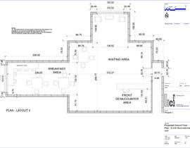 nº 15 pour Create a Motel Hallway in AutoCad par Francisal23