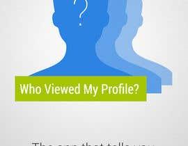 "ChillyChan tarafından Design an App Mockup for ""Who Viewed My Profile"" için no 5"