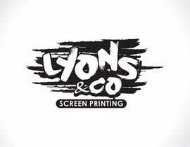 #259 for screen printing business logo design by ultralogodesign