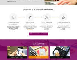 #7 for Design a Website Mockup, mobile phone shop, repair and more by adixsoft