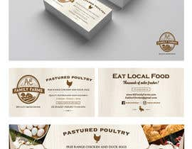 nº 27 pour Design Business Card & Banner for small Family Farm par azwanzakariah
