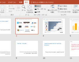 nº 12 pour Tidy up powerpoint presentation par tomoyan