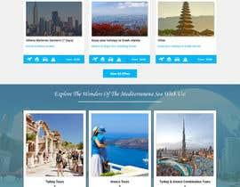 nº 12 pour Redesign of a travel agency website par ravinderss2014