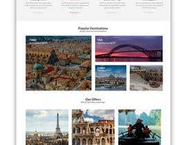 nº 18 pour Redesign of a travel agency website par ByteZappers