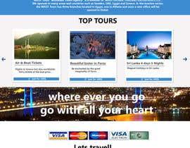 nº 17 pour Redesign of a travel agency website par zaighum110