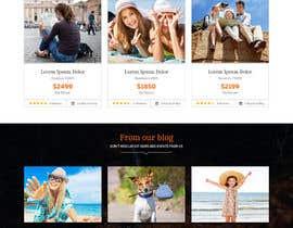 nº 11 pour Redesign of a travel agency website par webplane8