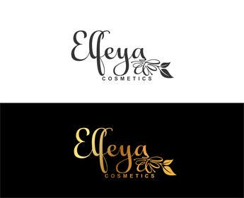 "#9 for Logo for a cosmetics brand: ""Elfeya Cosmetics"" by ekreative"