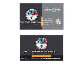 nº 9 pour Design some Business Cards For an Electrical Business par hbakbar28