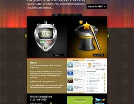 #8 cho Website Design for startstop.me bởi Aagii