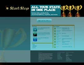 #33 cho Website Design for startstop.me bởi Khimraj