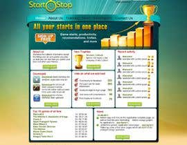 #28 cho Website Design for startstop.me bởi VIKKISoft