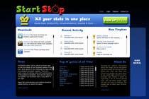 Graphic Design Konkurrenceindlæg #11 for Website Design for startstop.me