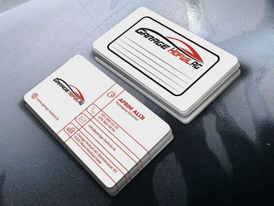 Proposition n°65 du concours Design von Visitenkarten für Car Dealer