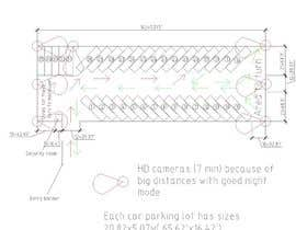 nº 6 pour Design a tractor trailer parking lot with security positions par emperor10e