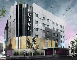 #7 for Boutique Hotel Exterior 3D Rendering by abrahamlolesle