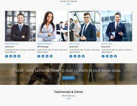 nº 5 pour Design a Website Mock up for attorney par antlogist