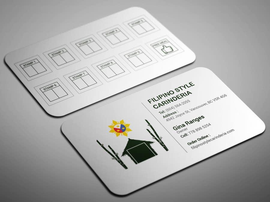 Kilpailutyö #                                        14                                      kilpailussa                                         Design some Business Stamp Cards