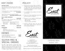 #52 for Design a brochure / redesign my catering menu by nikiramlogan