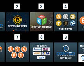 nº 19 pour Banner Design for Cryptocurrencie Exchange par vishaldz9ow