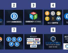 nº 101 pour Banner Design for Cryptocurrencie Exchange par vishaldz9ow