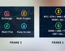 nº 100 pour Banner Design for Cryptocurrencie Exchange par ducdungbui