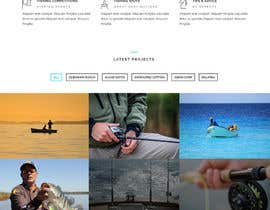#14 for Design a Website Template with a Fishing Theme by fb5512433f6ae44