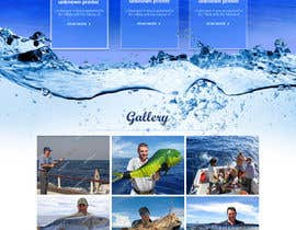 nº 8 pour Design a Website Template with a Fishing Theme par saidesigner87