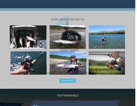 nº 5 pour Design a Website Template with a Fishing Theme par hafizakhatune
